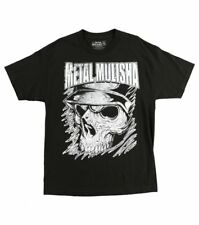 Metal Mulisha Corner Tee Men's Black Short Sleeve Skull Graphic Tee