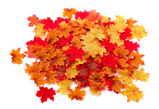 Artificial Autumn Maple Leaves Mixed Fall Colored Autum Stuff and Decorations