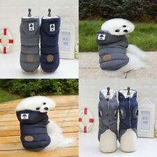 Winter Puppy Hoodie Pet Doggy Coat Vest Warm Outfit Dog Supplies Clothing Shoes