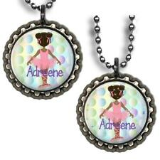 Custom Name Ballet Ballerina Bottle Cap Necklace Handcrafted Personalized Gift