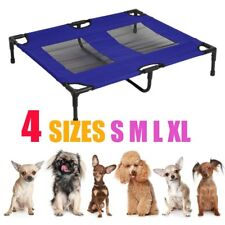 Pet Bed Trampoline Dog Puppy Cat Heavy Duty Frame Hammock Mesh S M L XL 2 COLORS