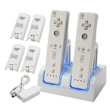 1/2/4X Rechargeable Battery Charging Dock Station Cradle FR Nintendo Wii Remote