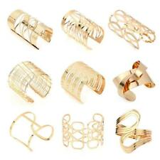 Statement Womens Cuff Bangles & Bracelets in Gold or Silver