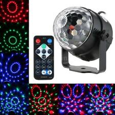 5W RGB Remote Control Mini LED Magic Ball Lamp Stage Effect Light Home Z4I5