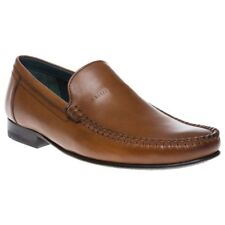 Mens Ted Baker Tan Simeen 2 Leather Shoes Loafers And Slip Ons On