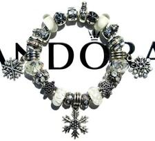 Authentic PANDORA Silver Charm Bracelet with Charms WINTER WONDERLAND EE67