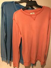 NWT Route 66, Young Men's Rust color Solid Washed  Shirt~Young Men's