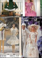 Crochet Pattern Magazines Barbie Clothes WORLD FANTASY +more *You Choose