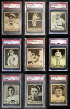 1940 Play Ball 1940 Play Ball Partial Complete Set EX/MT