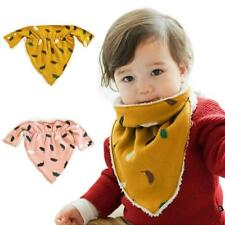 Children Kids Towel Warm Print Boy Girl Toddler Bandana Baby Bibs Saliva Towel