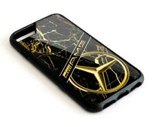 Mercedes-Benz AMG Black Golden Marble For iPhone 7 and 7 Plus Hard Plastic Case