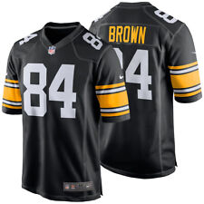 Authentic Nike NFL Antonio Brown #84 Pittsburgh Steelers 2017 Game Jersey NWT