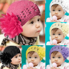 Toddlers Infant Baby Girl Hats Casual Wool Lace Hair Band Headband Headwear Hat