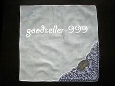 12 Pieces / 6 Pieces 30cm x 30cm Lace & Embroided 100% Cotton Handkerchiefs