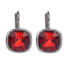Vintage Glass Bead Square Drop Earrings Charming Jewellery For Women