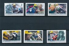 [76617] Isle of Man 2001 Motorbike good set Very Fine MNH stamps