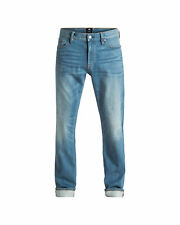 NEW DC Shoes™ Mens Washed Straight Jean Medium Indigo Wash DCSHOES  Denim Jeans