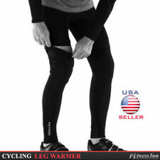 Cycling Cycle Leg Warmer Thermal Roubaix Winter Knee Running Warmers S/M - L/XL