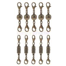 MagiDeal 5Pcs Metal Lobster Clasps Magnetic Connectors Hook for Jewelry Findings