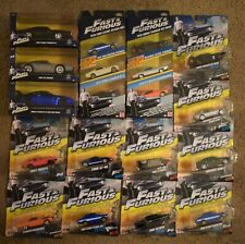 FAST & FURIOUS DIECAST BOXED CAR SETS 1970 FORD ESCORT RS1600  DODGE CHARGER