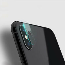 9H Premium Tempered Glass Back Camera Lens Protector Cover Film Set For iPhone X