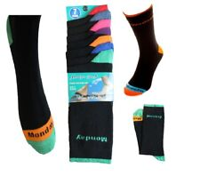 Multi pack  Novelty Socks 7Pairs Pack Days Of The Week Father Day Gift Idea Lot