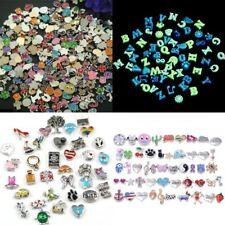50Pcs Lot Mix Floating Charm For Glass Living Memory Colorful Locket Gift New