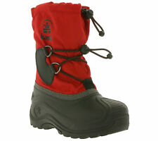Kamik Southpole 4 Shoes Children's Winter Boots Snow Boots Red Black Y nk8727
