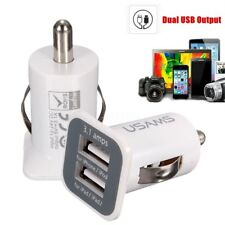 3.1A Mini Dual 2 Port 12V USB Auto Car Charger Socket Adapter for phone Tablet