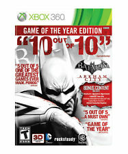New Sealed Batman Arkham City Game of the Year Edition XBox 360 X360