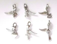 Angel from Heaven Wing Miscarriage Baby Child Loss Keepsake Clip on Charm
