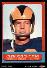 1963 Topps #131 Clendon Thomas Steelers EX
