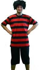 Halloween-Fancy Dress-Stage-World Book Day DENNIS THE MENACE COSTUME & WIG
