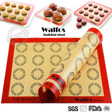 silicone baking pastry mat Rolling Dough Mat macaron oven liner cookie baking