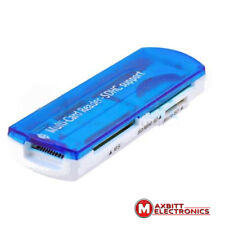 EXTERNAL USB ALL IN ONE MEMORY CARD READER SD SDHC MMC MICRO SD