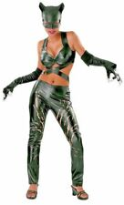 Catwoman Costume Adult Female Superhero Villain Cat Woman Halloween Sexy Rubies