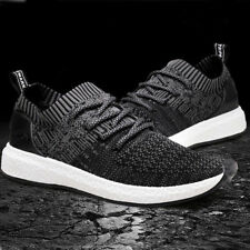 Mens Spring Summer knitting Sports Shoes Boy Athletic Running Soft Shoes Fashion