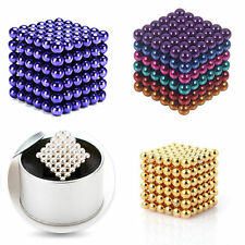 5mm 216 pcs Neodymium Magnet Balls Magic Beads 3D Puzzle Ball Sphere
