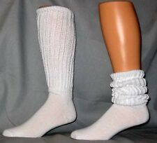 WOMENS EXTRA LONG AND HEAVY SLOUCH SOCKS  DANCE, WORKOUTS SIZE 9-11 12 PAIR