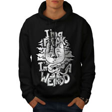 Cat Radiohead Creep Men Hoodie NEW | Wellcoda