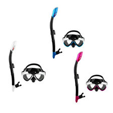 New PVC Swimming Diving Scuba Anti-Fog Goggles Mask & Snorkel Set for GoPro