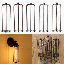 Vintage Hexagonal Lampshade  Industrial light lamp bulb Cage guard Cafe bars