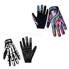 1 Pair Full Finger Gloves Cycling Gloves Riding Mitts Sportswear Silicon