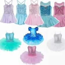 Little Girls' ballet Dance Skirt Tutus Dress Leotard Kids' Dancewear Costume