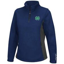 Ladies High Bar Notre Dame Fighting Irish Quarter Zip Jacket