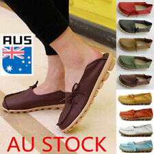 Women Soft Comfort Casual Slip On Walking Flat Shoes Loafers Moccasin