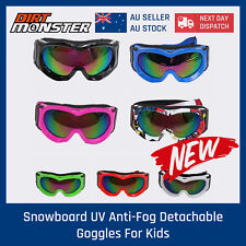 Kids Youth Tinted motocross motorbike goggles UV protection BMX dirt Bikes BMX