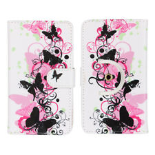 Pu Leather Smartphone Case For Huawei P Smart - Butterfly Pink 3
