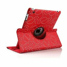 BLING Sparkle 360 Rotation Swivel Leather Stand Cover Case Apple iPad MINI 4