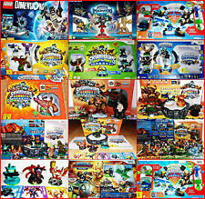 Skylanders Spyros Adventure Figurines & Wii Giants + Swap Force+Trap Team Choice
